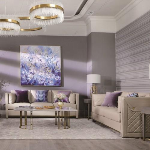 意式轻奢客厅沙发现代时尚客厅紫色沙发_MG_2041