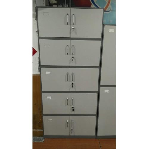 铁质五节柜