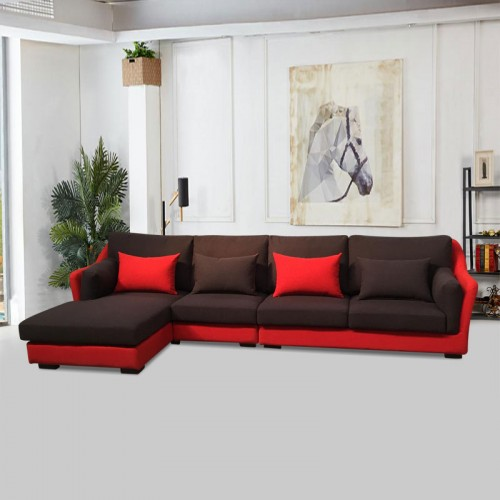 客厅休闲转角沙发价格 客厅休闲沙发尺寸 SF-6010#
