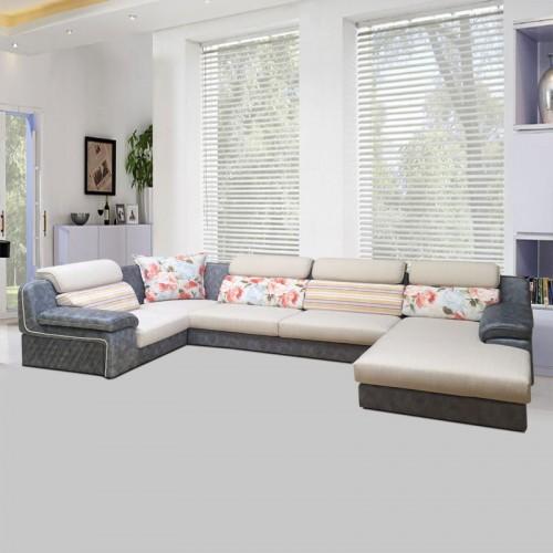 客厅沙发大户型U型沙发客厅组合套装SF-5010#