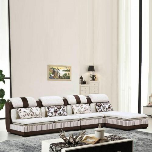 转角沙发尺寸 布艺沙发生产供应商SF-5012#