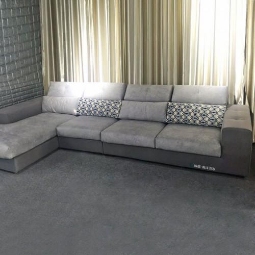 厂家销售转角沙发价格 休闲沙发图片955-B#