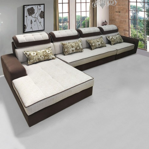 高档软体沙发 转角休闲沙发低价批发SF-5022#