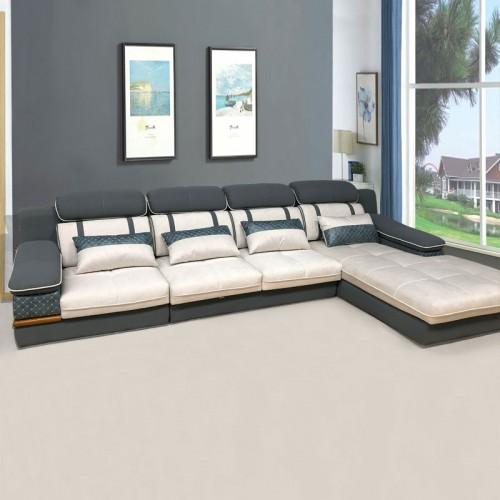 高端软体家具 时尚转角沙发价格SF-5030#