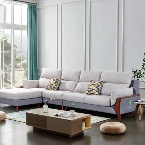 品牌沙发定制 时尚转角沙发价格917-B#