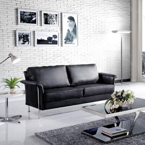 香河办公室会客沙发 钢架洽谈沙发01#
