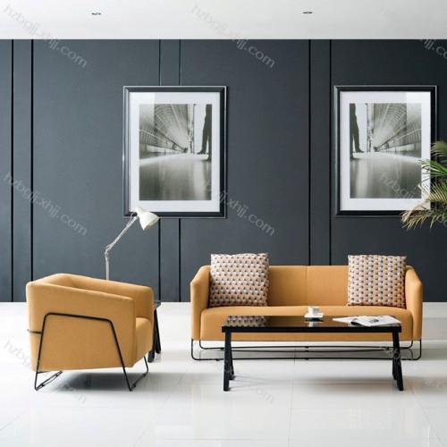 现代时尚钢架沙发 香河商务办公沙发02#