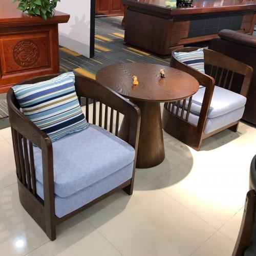 中式洽谈桌椅 香河办公会客沙发04#