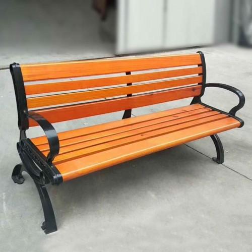 小区室外休闲座椅 不锈钢靠背等候椅10#