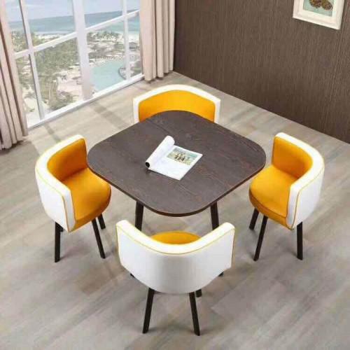 时尚现代洽谈桌椅组合 办公洽谈桌厂家18#