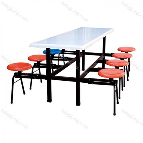 连体餐桌椅厂家 学生食堂餐桌椅供应商价格05#