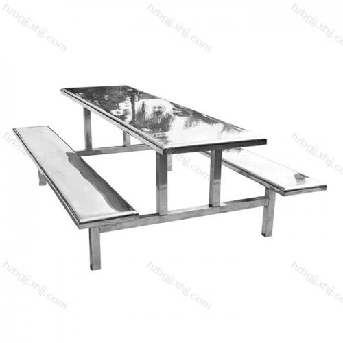 不锈钢快餐桌椅 食堂餐桌椅价格09#