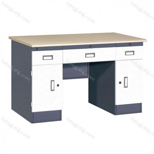 香河钢制单人办公桌写字台厂家直销05#