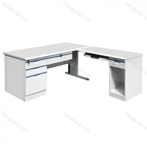 香河厂家直销 钢制办公桌写字台07#