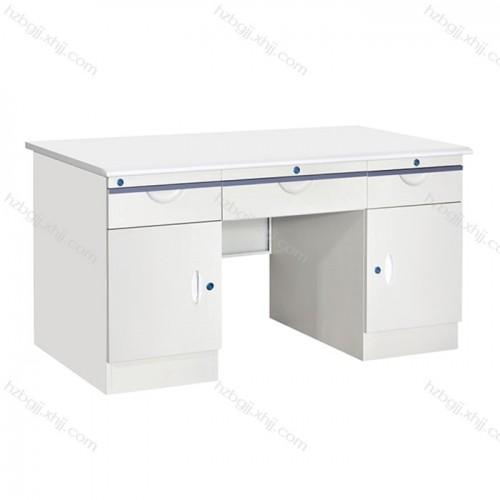 天津钢制电脑桌品牌 职员防火面板写字台10#
