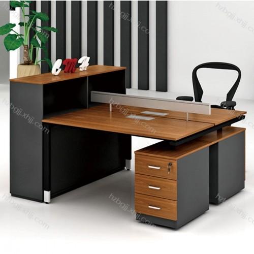 双人位屏风工作位简约现代职员办公桌17#