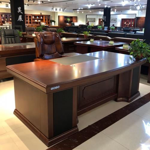 香河批发厂家大班桌经理油漆办公桌12#