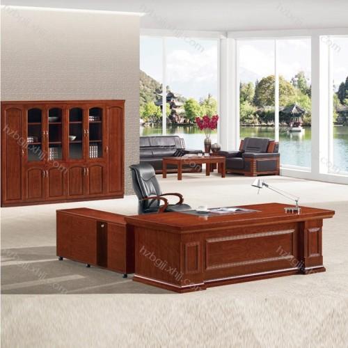 简约商务老板桌 油漆班台桌30#