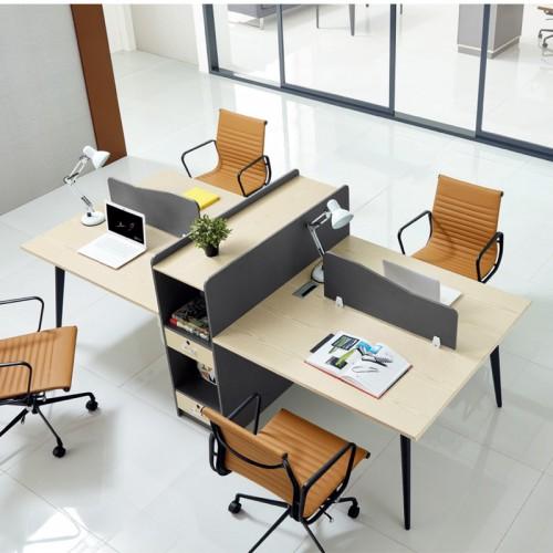 北京板式屏风桌 屏风隔断办公桌价格7C-10