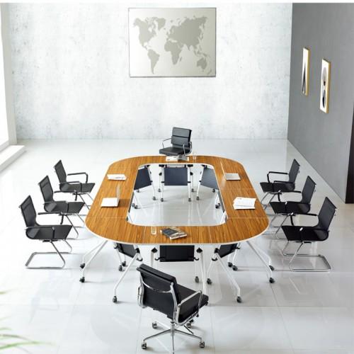 现代商务会议桌厂家 会议桌厂家定做直销 T-005