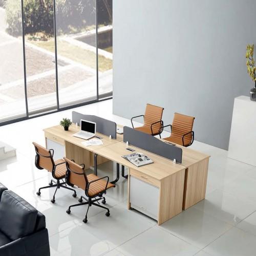 职员组合办公桌子 屏风工作位采购 G-48