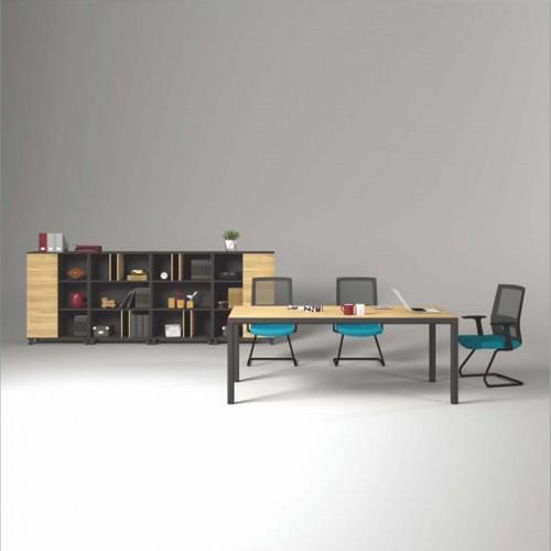 香河板式会议桌定做尺寸 公司办公会议桌价格K-MA2010B