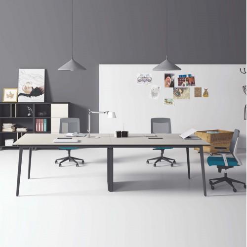 天津办公家具厂家定制销售现代板式会议桌T-MA2412B