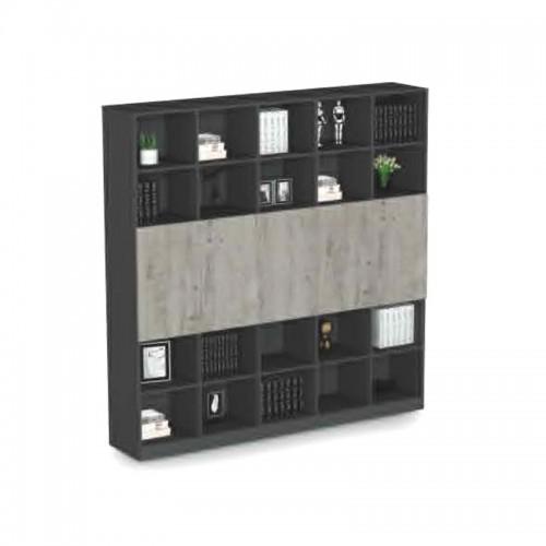 落地板式书柜文件柜生产厂家F-CA2004
