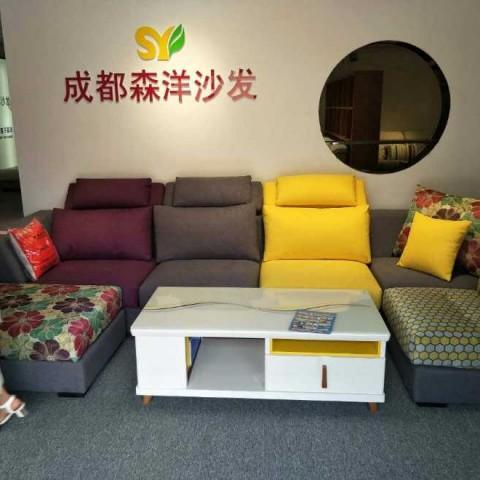 王老师预祝森洋沙发大卖