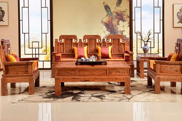 香河中奕榆木古典中式家具