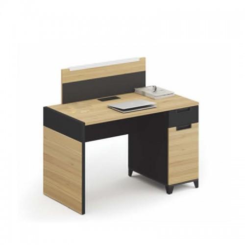 单人屏风办公桌行政桌厂家 K-WC1206