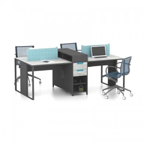 办公家具屏风隔断职员办公桌 M-WA2412