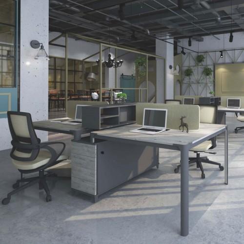 屏风隔断职员办公桌价格 板式办公桌价格 F-WA2612