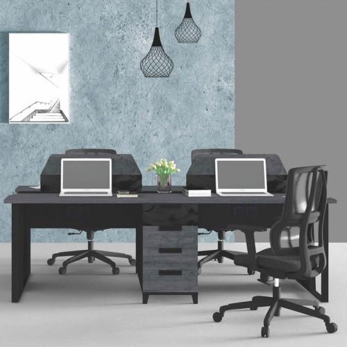 屏风卡位办公桌 屏风隔断职员电脑桌  A-WA2412