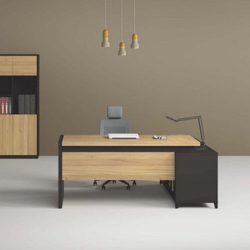 现代简约经理台 板式主管行政桌批发K-DB1816