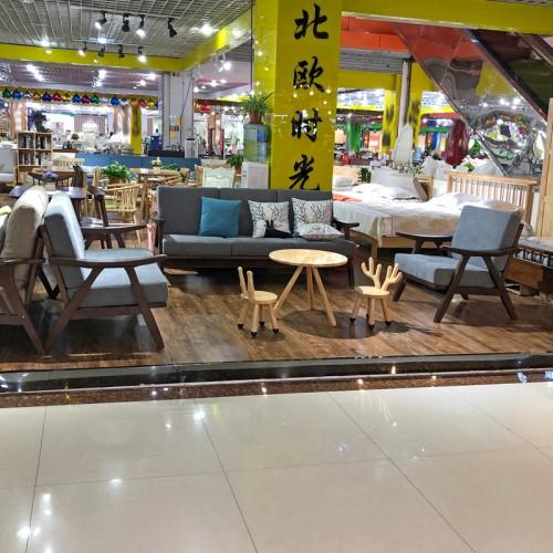 客厅北欧沙发组合小户型布艺沙发供应商02