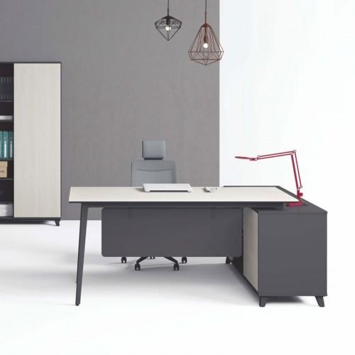 板式办公老板桌品牌 现代简约经理台T-DA1816B