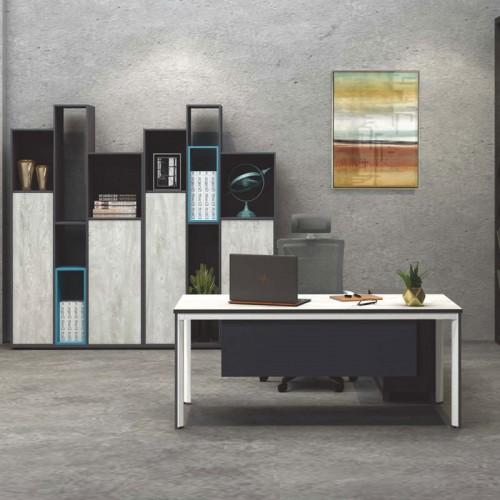 现代板式老板桌价格 经理台定制厂家M-DC1408