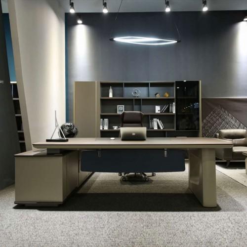 厂家直销时尚大气老板桌班台桌经理办公桌JK1301