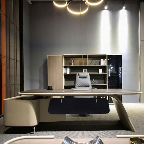 创意老板总裁桌现代大气班台桌低价销售T1203