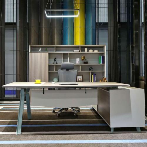 时尚简约老板桌板式经理台供应商FA1401