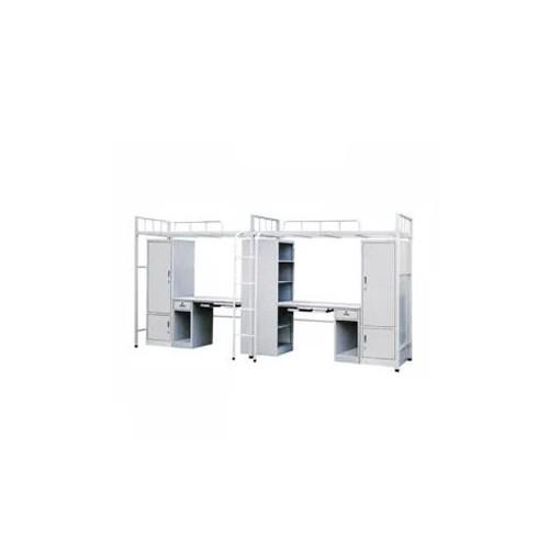 连体公寓高低床下桌铁床促销价格C-008#