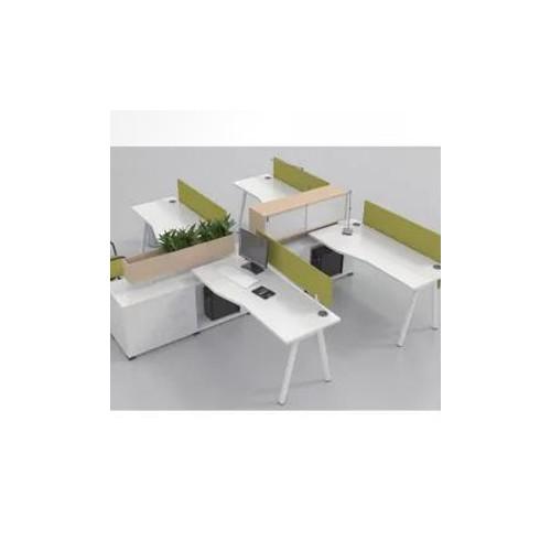创意屏风工作位设计 屏风办公桌定做Z-007#