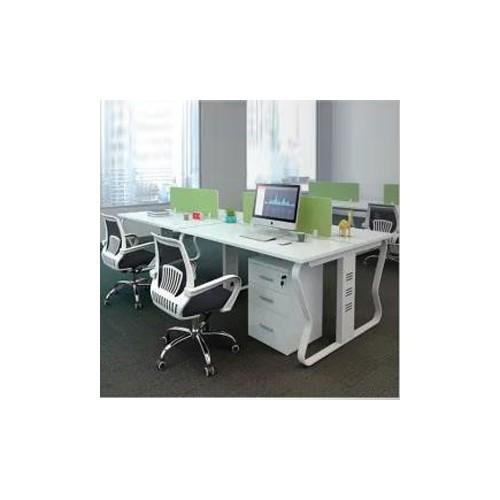 简约现代屏风工作位屏风隔断办公桌Z-004#