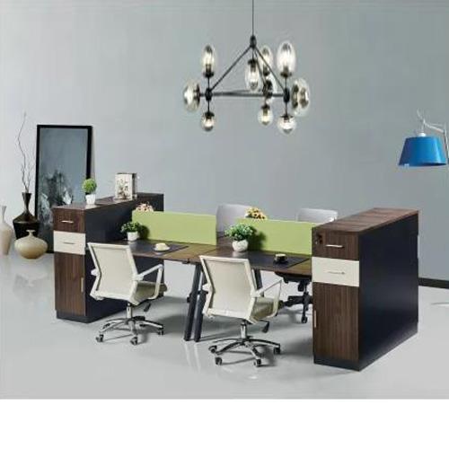 时尚屏风工作位厂家 现代板式屏风隔断桌定做Z-0162#