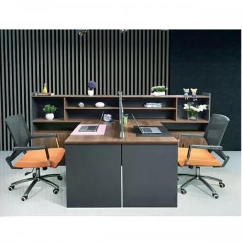 财务职员屏风办公桌双人隔断电脑桌Z-2302#