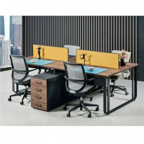 板式屏风办公桌职员屏风工位桌Z-2244#