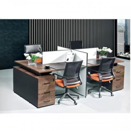 高档屏风工作位品牌 员工屏风桌定做尺寸Z-2241#