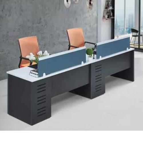 办公区屏风隔断工位单面带腿办公桌Z-6014A#