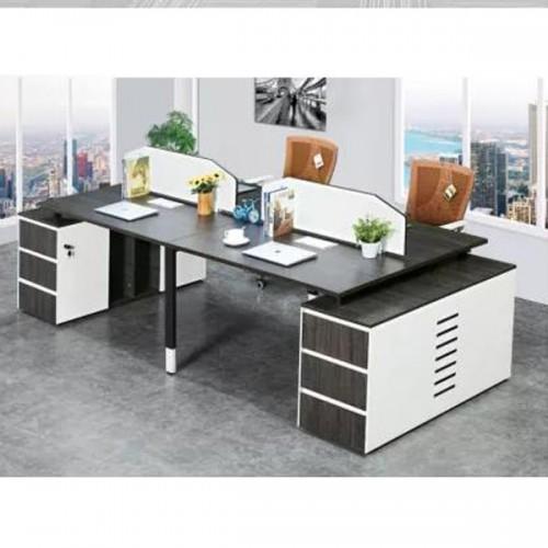 屏风隔断工位桌 现代板式屏风办公桌厂家Z-1424#